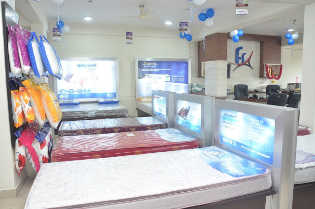 Picture of Actress Nikita Launches Sleepwell World  Showroom in Miyapur