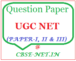 image : UGC NET Question Papers December, 2014