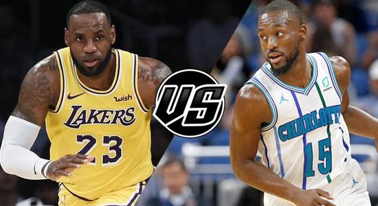 Live Streaming List: LA Lakers vs Charlotte Hornets 2018-2019 NBA Season