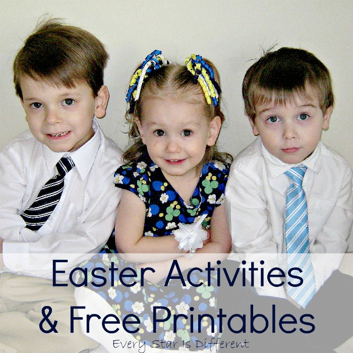 Easter Activities and Free Printables