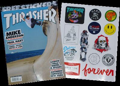 thrasher magazine x ironxhanger x pinkviolence ©