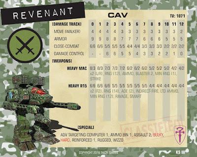 "Malvernian ""Revenant""!"