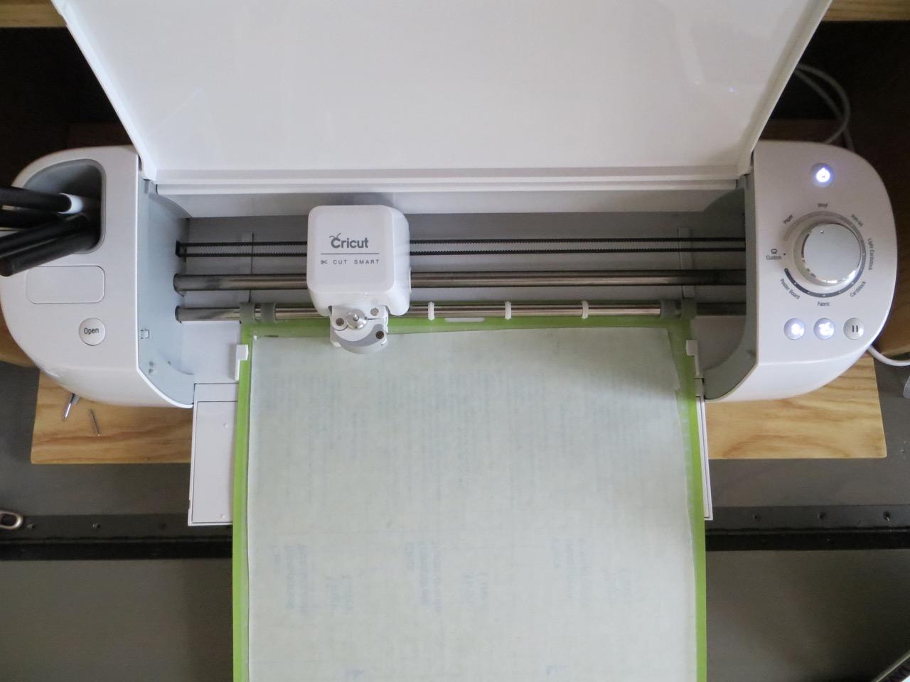 the cricut cutting machine