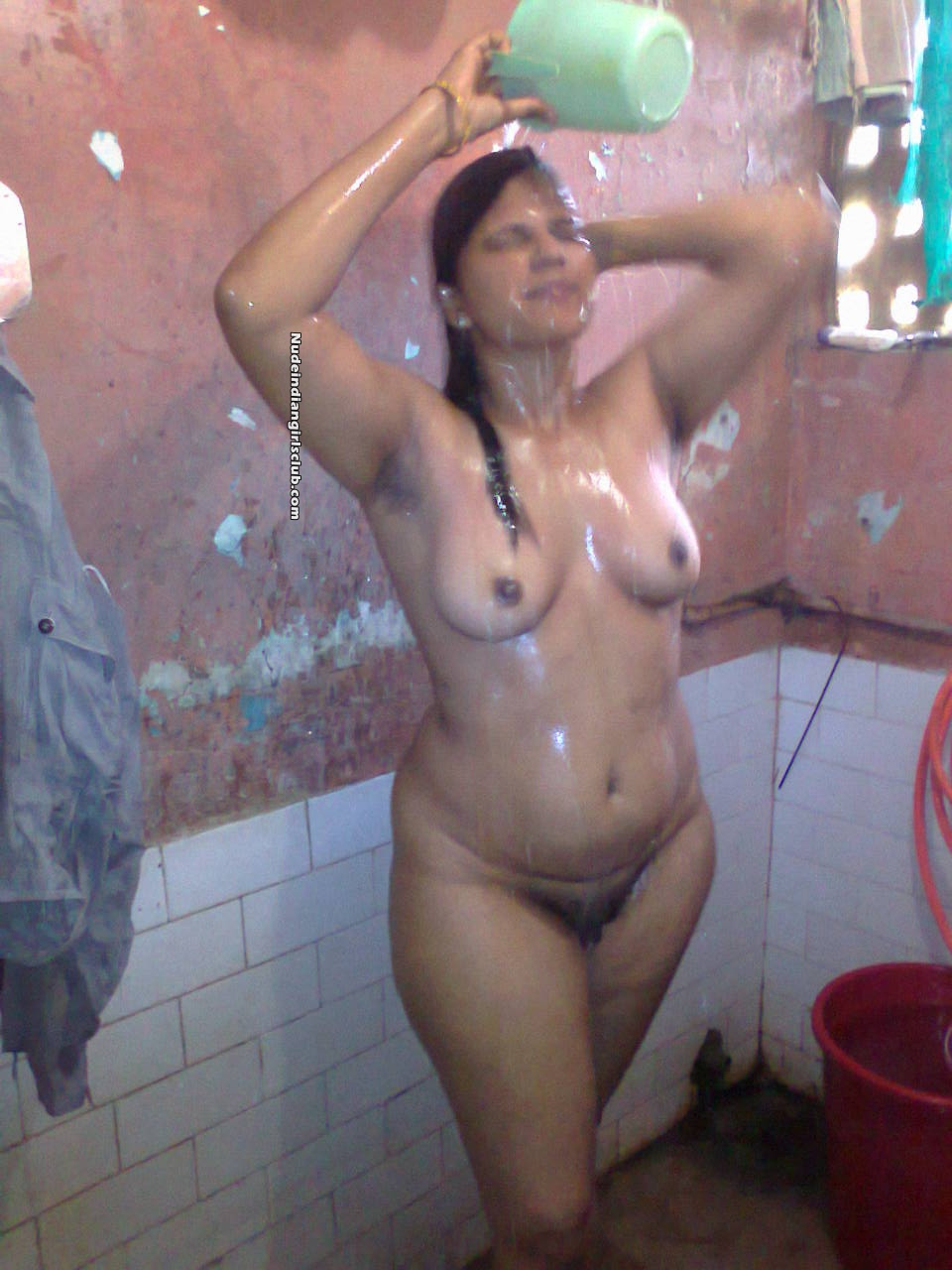 Maniak Wanita Desi Indian Maid Girl Fully Nude Bath At -4534