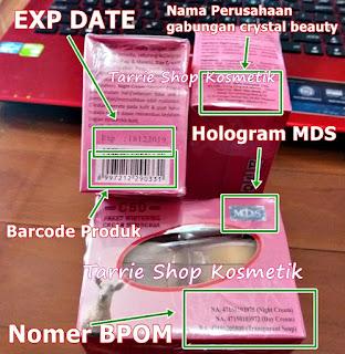 CSD Cream Susu Domba Hologram MDS Original BPOM