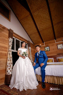 Mizo Wedding dress