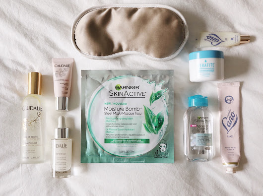 My In-Flight Skincare Routine