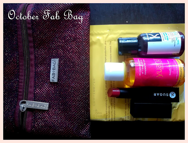 October Fab Bag Review