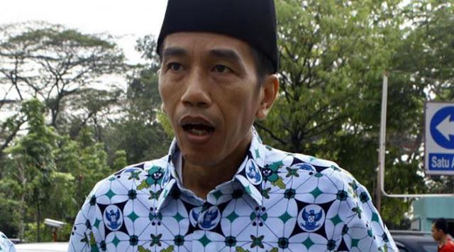 Ekspresi Lucu Presiden Jokowi