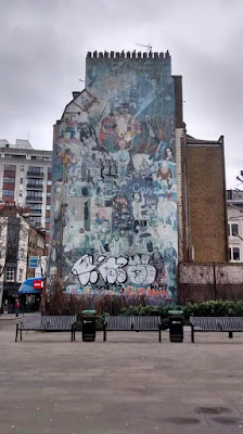Goodge Street Graffiti London UK Travel Blog