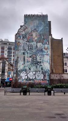 Goodge Street Graffiti London UK Travel Blog