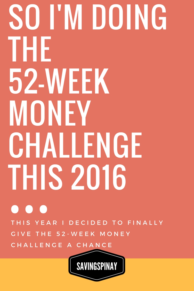 ... Money Challenge; I still have other saving methods for different goals.  I'll talk about my saving goals in another blog post.