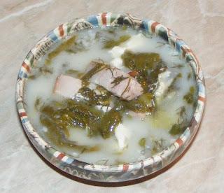 supa de salata, supa de salata verde cu lapte, supe, retete de mancare, retete culinare, reteta supa,