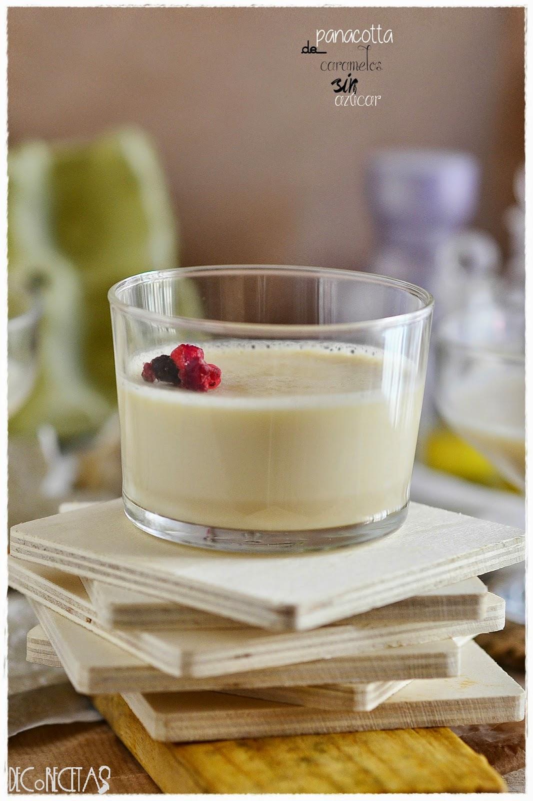 Panacota de cafe: sin azúcar, con 3 ingredientes, en thermomix y en 5 minutos!! Receta con Gelatina neutra