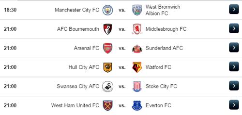 Jadwal Liga Inggris Sabtu 22 April 2017
