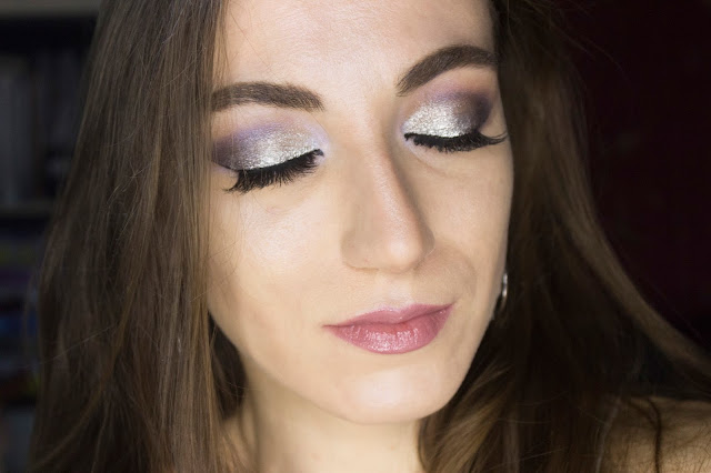 New year make-up 2018: Snow Queen