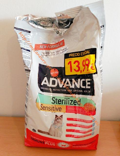 Affinity Advance Sterilized Sensitive Salmón & cebada