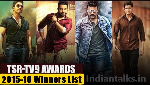TSR-TV9 Awards 2015 - 2016 Winners List