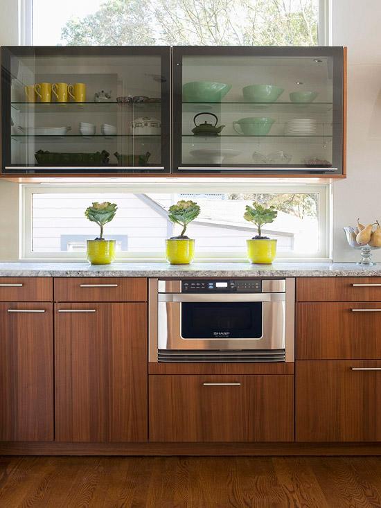 Kitchen Cabinet Interior Design: New Home Interior Design: Kitchen Cabinets: Stylish Ideas