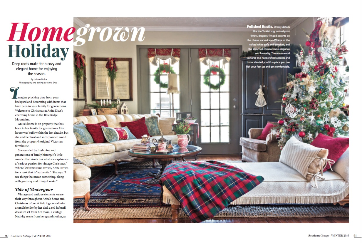 Far Above Rubies Southern Cottage Magazine feature