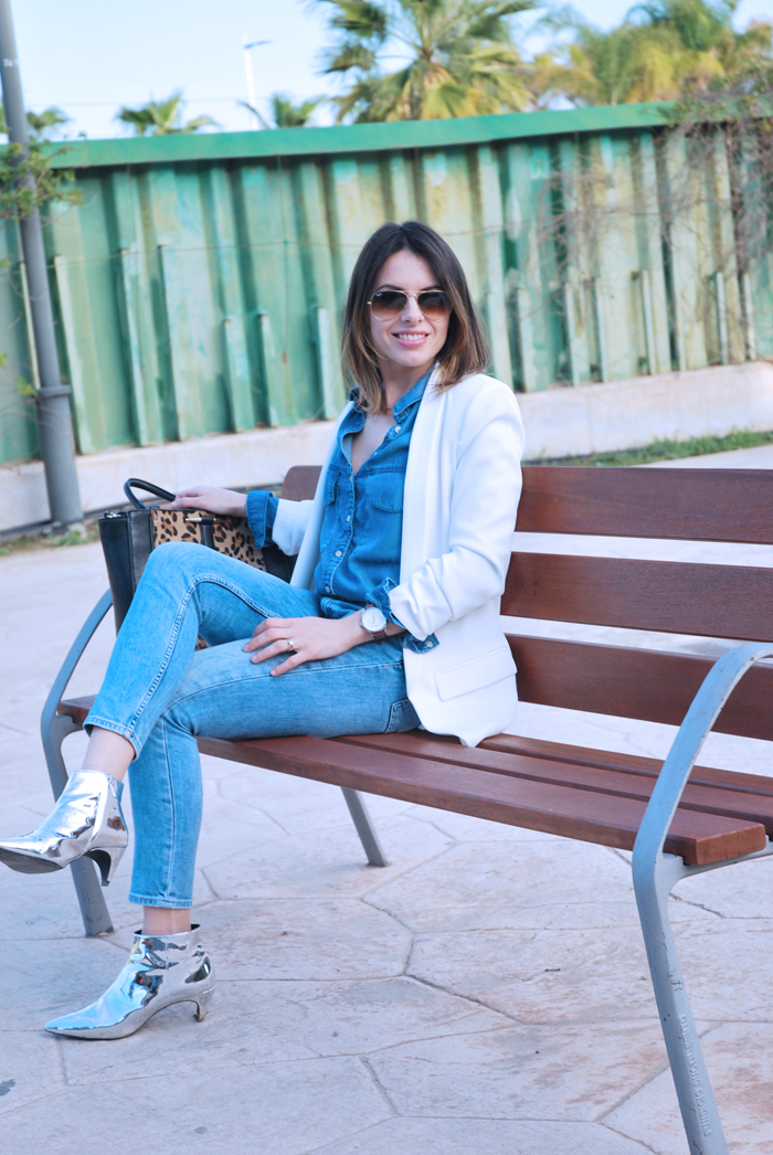 denim-on-denim-white-blazer-metallic-boots