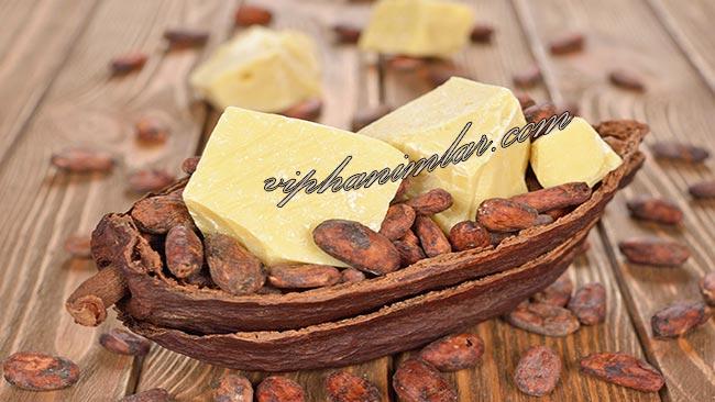 Yıpranan Kuru Saçlara Kakao Yağı - www.viphanimlar.com