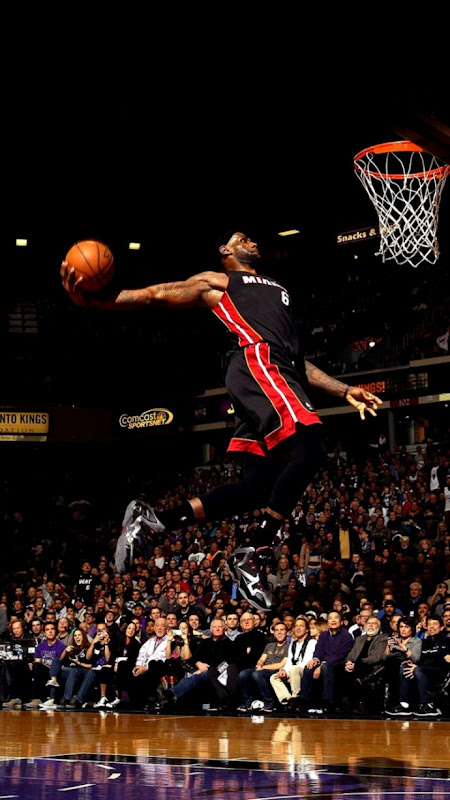 Wallpapers Quality Lebron Dunk Wallpaper