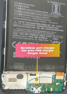 Xiaomi Redmi 5 tidak dapat di charge Saat hp hidup