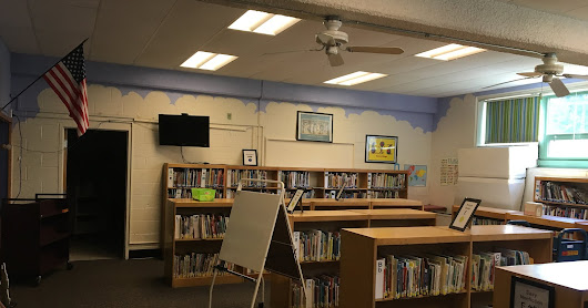 Tearing Down the Dividing Wall & Painting the Walls with Student Selected Colors: 2nd post of the Pine Glen Learning Commons Transformation Blog Series