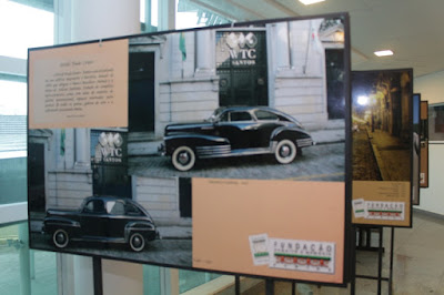 Exposição Automóveis Antigos na Câmara Municipal de Santos