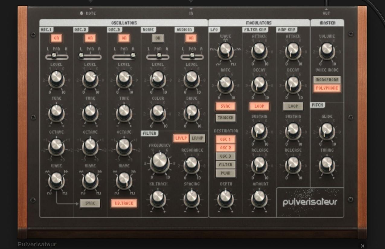 Audiotool logiciel de cr ation musicale en ligne niko - Table de mixage en ligne gratuit ...