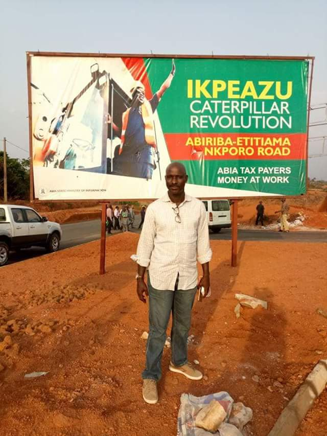 OKEZIE IKPEAZU IN A HURRY TO DELIVER DIVIDENDS OF DEMOCRACY WITH RURAL ROADS CONSTRUCTION