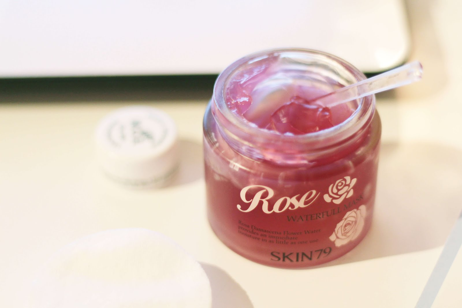 skin79 rose waterfull mask review product shot