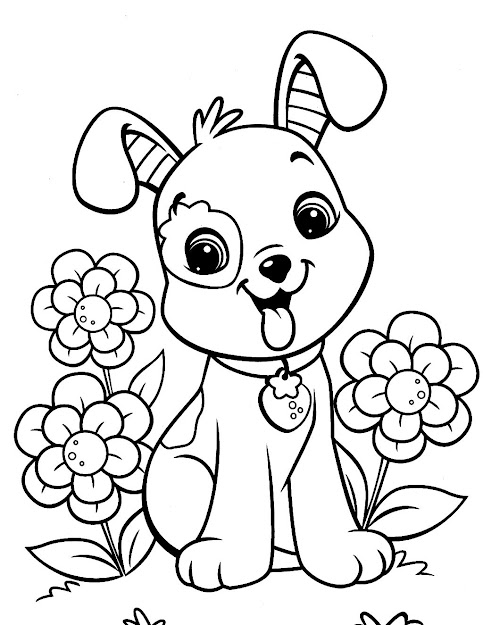 Download Coloring Pages Dog Coloring Pages Best Dog Coloring Pages  Coloring Pages Kids To Print