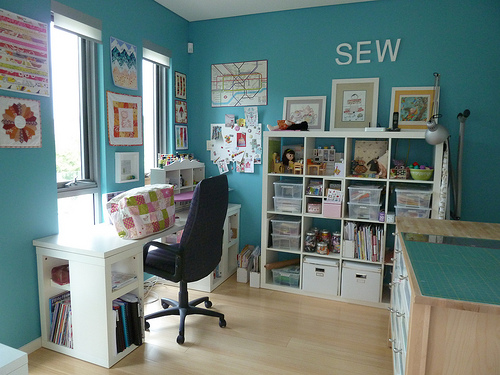 Craft Room Design Layout Small Spaces Home Office