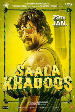 Saala Khadoos' Movie Tv Premier on Sony MAX Tv Channel Wiki Full