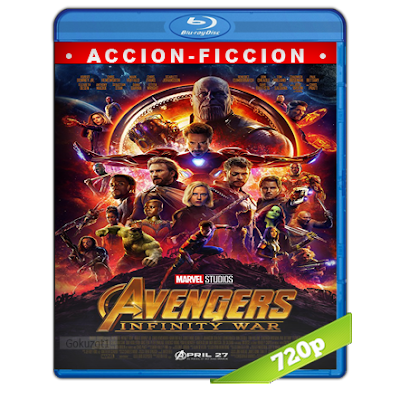 Avengers Infinity War (2018) BRRip 720p Audio Trial Latino-Castellano-Ingles 5.1