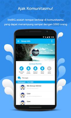 LiteBIG Messenger aplikasi pengganti WhatsApp karya putra-putri Indonesia