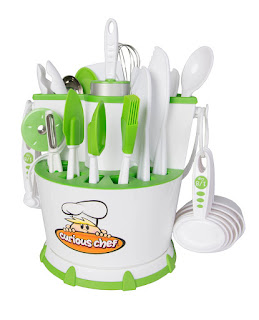 A 30-piece chef caddy that contains everything a budding future chef needs.
