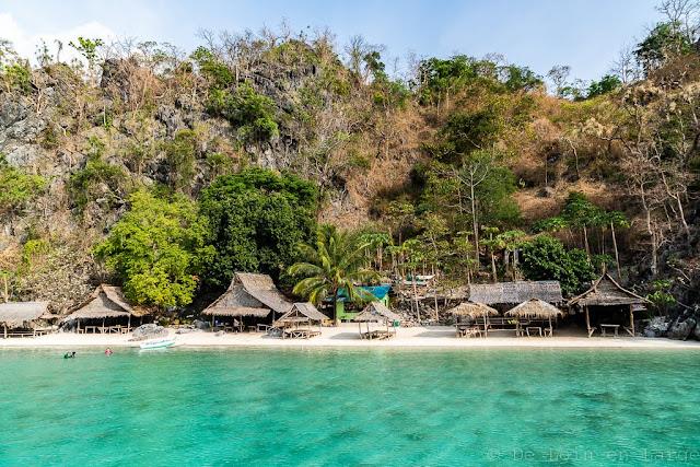 Atwayan beach-Coron-Philippines