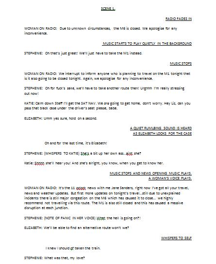 Horror Radioplay Script