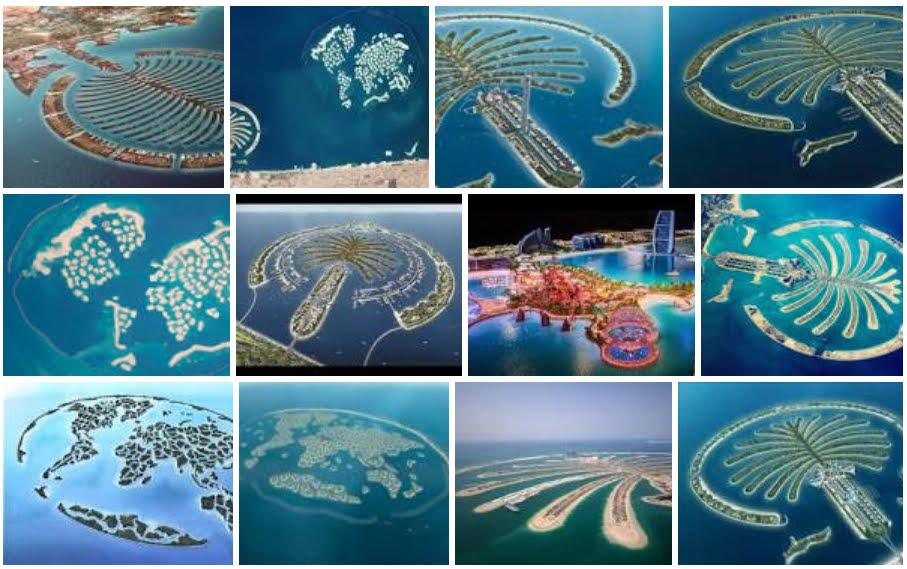 Dubai: la magia delle sue meravigliose isole artificiali