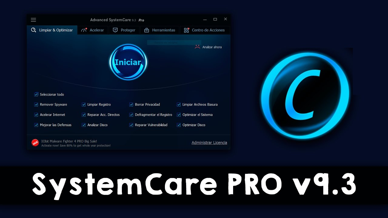 Advanced SystemCare Pro With Activation Key Free Download