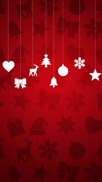 Merry Christmas 2016 iPhone 6 HD wallpapers free download