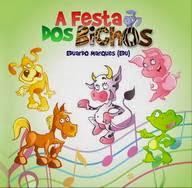 Capa do CD Infantil A Festa dos Bichos