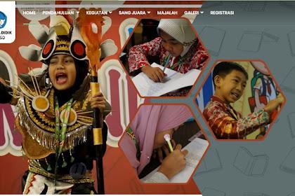 Festival dan Lomba Literasi Nasional Tahun 2019 diperpanjang