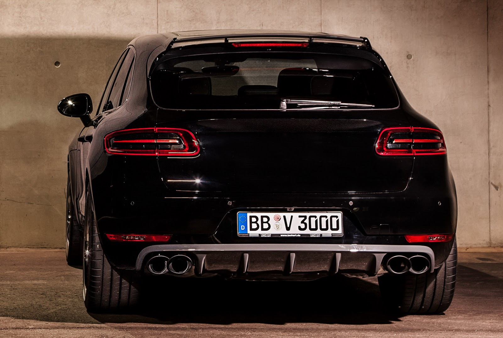 Porsche Macan Powered And Styled Up With Techart Parts
