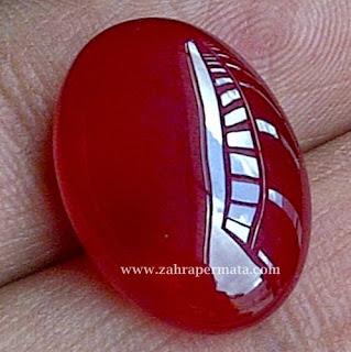 Batu Permata Red Carnelian - ZP 305