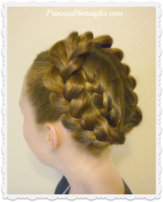 Easy Halo or Crown Braid Tutorial