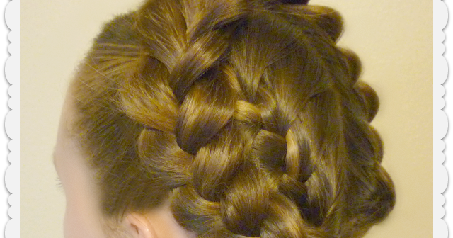 easy halo or crown braid tutorial hairstyles for girls